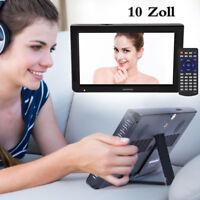 "10"" TFT LED DVB-T/T TV Portátil 1080P HD Televisor Analógico/ Digital TV ATV USB"