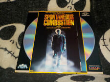 SPONTANEOUS COMBUSTION from Tobe Hooper LaserDisc NearNEW mmoetwil@hotmail.com