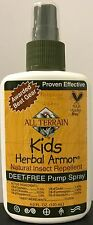 All Terrain Kids Herbal Armor - Natural Insect Repellent - 4 oz Spray DEET FREE!