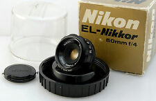 BOXED MINT EL Nikkor Nikon 50mm F4 Nippon Kogaku LEGACY CAMERA OSCURA enlarger lens