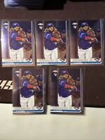 2019 Topps Chrome Update Vladimir Guerrero Jr. RC Toronto Blue Jays #21 X5