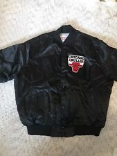 Vintage - Chicago Bulls Satin Mens Jacket Bomber - Size XXL - Locker Line 90s
