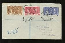 George VI (1936-1952) Used Gambian Stamps