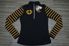 Nike Elite Dri Fit Elements Oregon Webfoots half zip pullover shirt Womens M $70