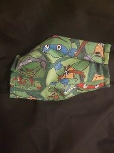 Adult size face mask Ninja Turtles