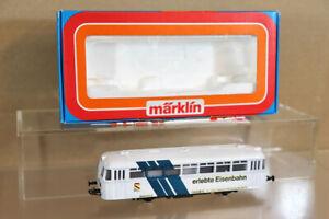 MARKLIN MäRKLIN 3016 DIGITAL 6080 SONDERMODELLE ERLEBTE EISENBAHN RAILBUS LOCO