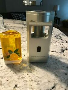 BATH AND BODY WORKS Touch Free  Automatic Soap Dispenser With Refill TESTED