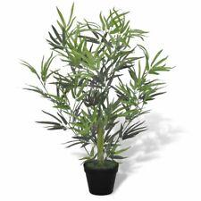 "vidaXL Artificial Bamboo Tree w/ Pot 31"" Plant Potted Home Decor Patio Fake"