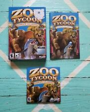 Zoo Tycoon: Complete Collection (PC, 2003) Complete Manual, Box, Discs