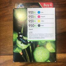 HP 950XL/951XL Multipack Original Tintenpatronen C2P43AE,Black + Farben 2020