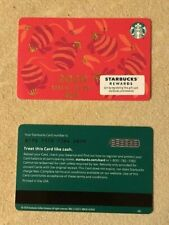 Starbucks Card 2020 New Year of the Rat Limited Edition NEW Unused MINT