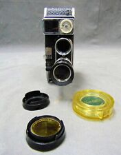 Vintage Bolex Paillard B8SL 8mm Cine Movie Camera & Kern Yvar Lenses & Filters.
