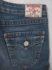 True Religion Joey Jeans Womens 29 Boot Flare Cut Measures 29 X 33 USA