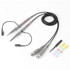 2Pz Precisione BNC Sonda Kit 100MHz Scope Clip 1x/10x per Oscilloscopio