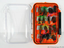 32 Pcs Assorted Fly Fishing Lure Set with Fly Box