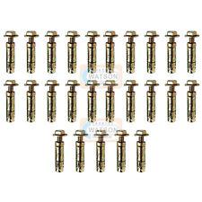 Pack 25 - M8X40 Loose Bolt Shield Anchor Wall Heavy Duty Brick Masonry Rawl Type