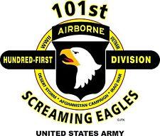 101ST AIRBORNE DIVISION & OPERATION DESERT STORM VETERAN  2-SIDED SHIRT