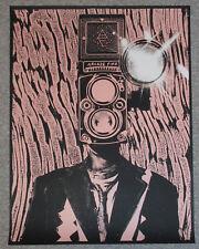 *PINK* Arcade Fire 2014 Reflektor Tour Poster Set Rob Jones Silent Giants Gig
