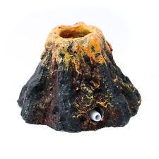 Aquarium Volcano Shape & Air Bubble Stone Oxygen Pump Fish Tank Ornament 20
