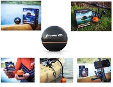 Deeper Smart Sonar PRO/Plus/GPS/WiFi Echolot /Halterung/Abdeckungen/Montagearm