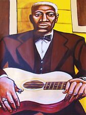 LEADBELLY PAINTING blues king of the 12 string guitar last sessions cd best of
