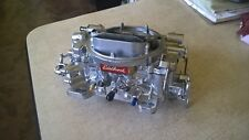 Edelbrock Rebuilt carburetor with live video testing 600 with  M choke #1405