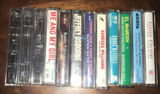 Lot Of 12 Cassette Tapes Assorted Country Pop Unforgettable 50's Queens Country