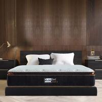 BedStory 10'' Black Hybrid Mattress Luxury Gel Infused Memory Foam  T/F/Q/K/CK