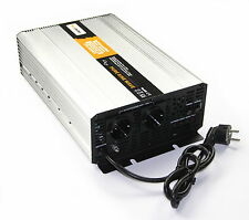 Transformador de tensión UPS 12V 2000/4000 Vatios Simple SINUS Inverter Inversor