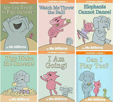Mo Willems Elephant and Piggie Series Hardcover Collection Set of Books 7-12