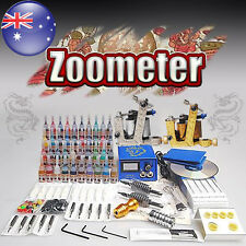 Tattoo Kit 2 Gun Machine Power 40 Ink  Economy Pack  Oz seller