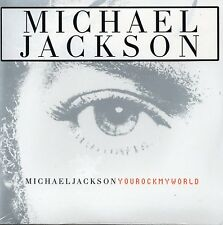 CD single Michael JACKSON You rock my world CARD SLEEVE 3-track  NEW SEALED