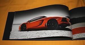 Lamborghini Aventador LP700-4 2011 Prospekt Brochure Depliant Prospetto Buch