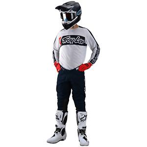 Troy Lee Designs Gear Combo TLD MX Motocross Gear SE PRO Pants Jersey VOX WHITE