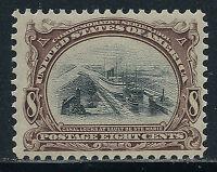 SCOTT 298 1901 8 CENT PAN AMERICAN EXPOSITION ISSUE MNH OG F-VF CAT $150!