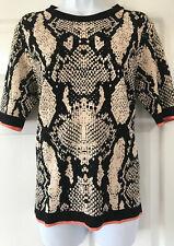 New Next  Print jumper Top  Size  16    £28.00