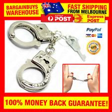 🇦🇺 Metal Finger Cuffs Thumbcuffs Small Handcuffs Fingers Miniature Handcuffs