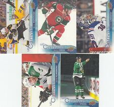 2016-17 UPPER DECK CANVAS lot of 5 DIFFERENTS CARDS near mint   LOT 102