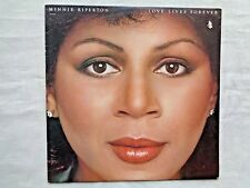 Minnie Riperton Love Lives Forever 1980 Capitol SOO-12097 Orig Z-2/Z-1 Press NM-
