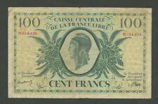 FRANCESE AFRICA EQUATORIALE - 100 FRANCHI 1941 / WWII Libre P13 (banconote)