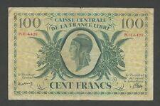 French África Ecuatorial - 100 francos 1941/P13 de la segunda guerra mundial libre (billetes)