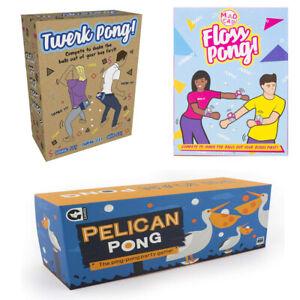 Floss Pong, Pelican Pong, Twerk Pong Rum, Gin Fling, Prosecco Pong Pongsecco NEW