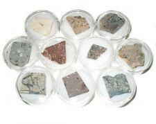 Rochechouart Meteorite impact crater impactite collection 10 small slices