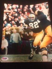 Lionel Aldridge (D) Packers Signed 8x10 Photo SB I II Champs ~ PSA/DNA Auth COA
