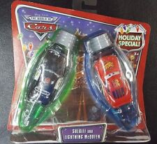 DISNEY PIXAR CARS HOLIDAY SPECIAL LIGHTS SHERIFF LIGHTNING MCQUEEN SAVE 5%