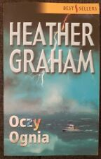 OCZY OGNIA Heather Graham | Paperback 2006 | Polish book | Eyes of Fire