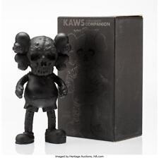 KAWS X PUSHEAD COMPANION (BLACK), 2005 CAST VINYL 10-1/2 X 5-1/2 X ... Lot 11085