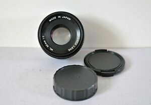 Yashica 50mm 1:2 lens in excellent condition