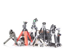 Lot of (20) Miscellaneous Brands Mini Tripods and Monopods, Various Sizes - Ex