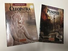 Pompeii & Cleopatra ( DVD ) Buried Alive - The Last Pharaoh, Lot Of 2
